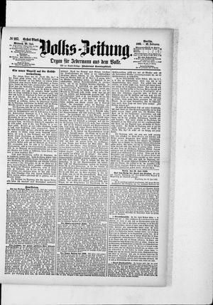 Volks-Zeitung vom 20.07.1892