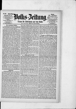 Volks-Zeitung vom 23.07.1892