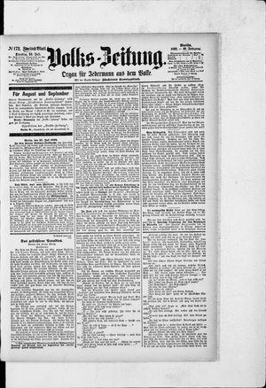 Volks-Zeitung vom 26.07.1892