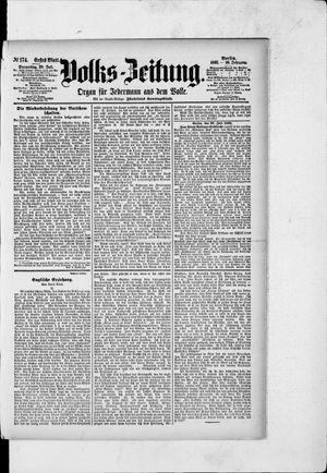 Volks-Zeitung vom 28.07.1892