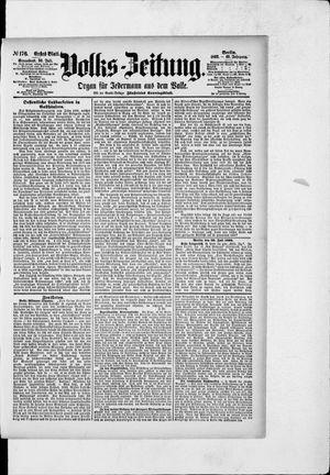 Volks-Zeitung vom 30.07.1892