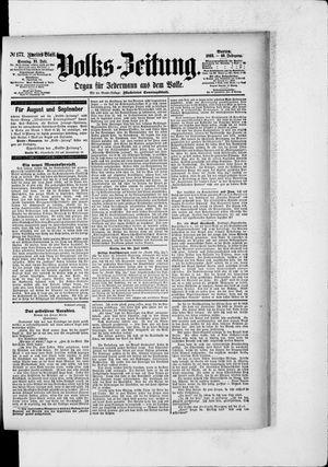 Volks-Zeitung on Jul 31, 1892