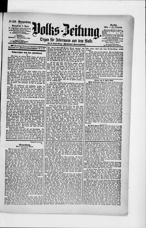 Volks-Zeitung vom 07.04.1894