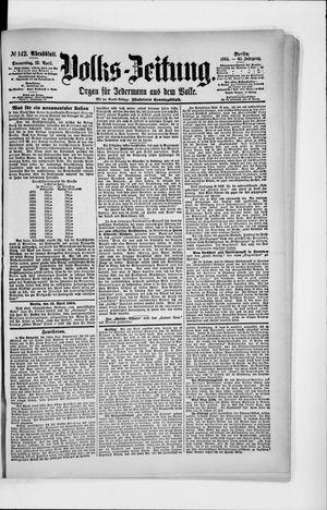 Volks-Zeitung vom 12.04.1894