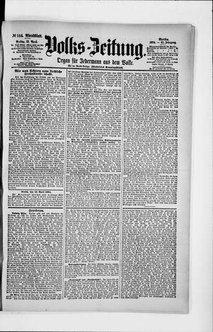 Volks-Zeitung vom 13.04.1894