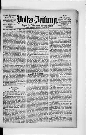 Volks-Zeitung vom 17.04.1894