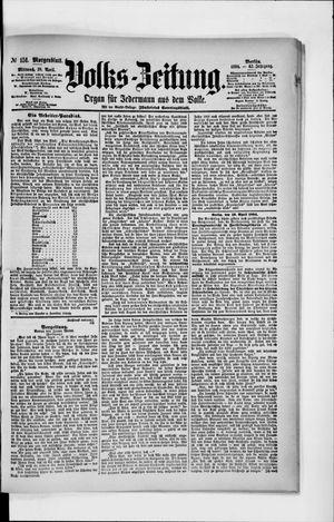 Volks-Zeitung vom 18.04.1894