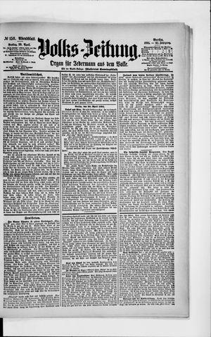 Volks-Zeitung vom 20.04.1894