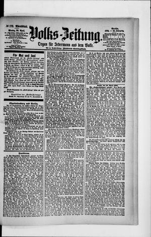 Volks-Zeitung vom 30.04.1894