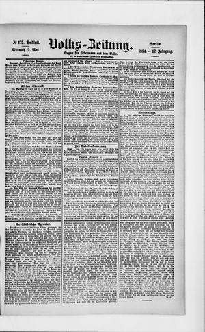 Volks-Zeitung vom 02.05.1894