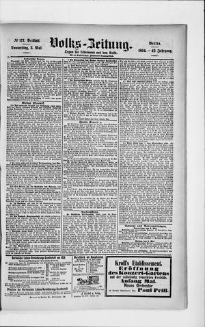 Volks-Zeitung vom 03.05.1894