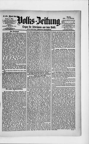 Volks-Zeitung vom 04.05.1894