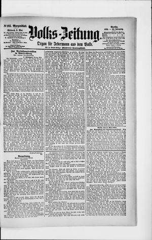 Volks-Zeitung on May 9, 1894