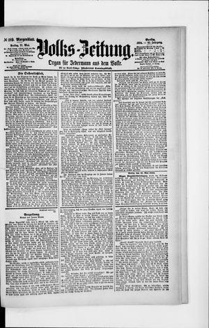 Volks-Zeitung vom 11.05.1894