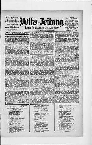 Volks-Zeitung on May 12, 1894