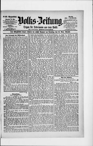 Volks-Zeitung vom 13.05.1894