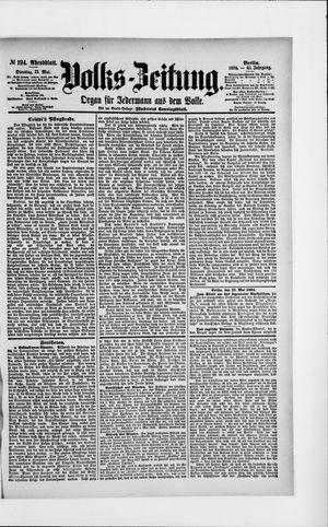 Volks-Zeitung vom 15.05.1894
