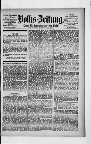 Volks-Zeitung vom 20.05.1894