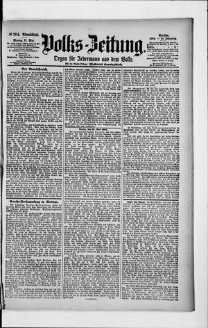 Volks-Zeitung vom 21.05.1894