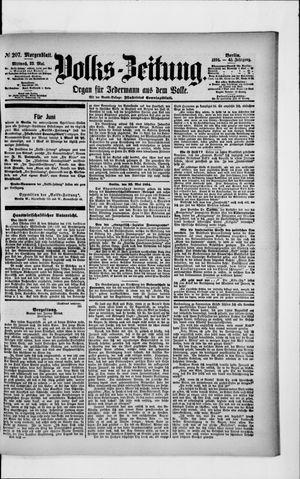 Volks-Zeitung vom 23.05.1894