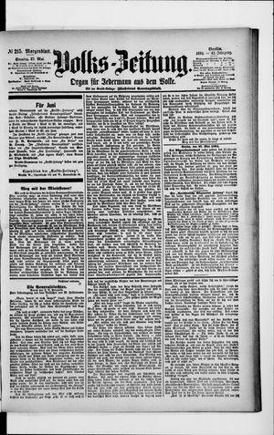 Volks-Zeitung vom 27.05.1894