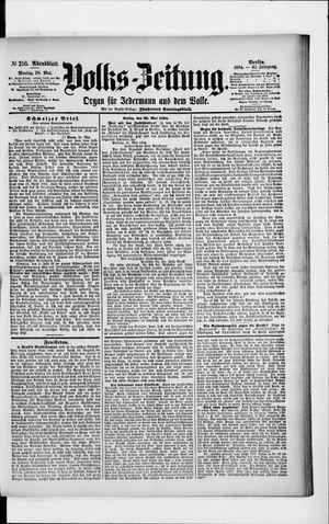 Volks-Zeitung vom 28.05.1894