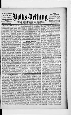 Volks-Zeitung vom 29.05.1894