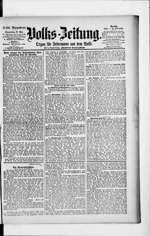 Volks-Zeitung vom 31.05.1894