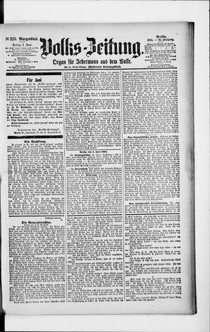 Volks-Zeitung vom 01.06.1894