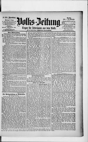 Volks-Zeitung vom 04.06.1894