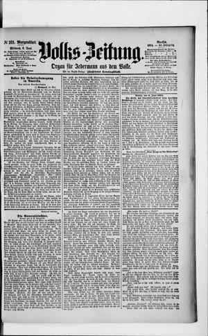 Volks-Zeitung vom 06.06.1894