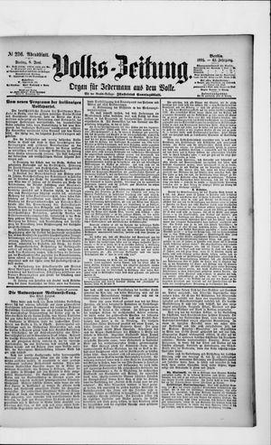 Volks-Zeitung vom 08.06.1894