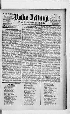 Volks-Zeitung vom 09.06.1894