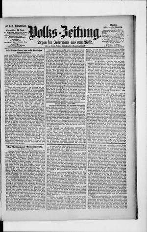 Volks-Zeitung vom 14.06.1894