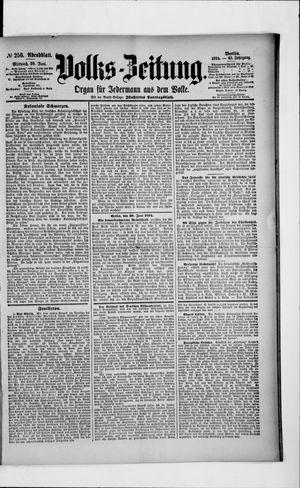 Volks-Zeitung vom 20.06.1894