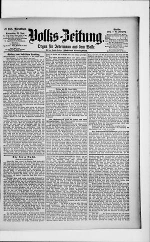 Volks-Zeitung vom 21.06.1894