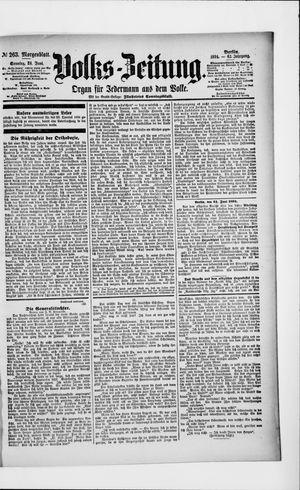 Volks-Zeitung vom 24.06.1894