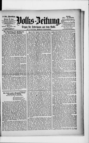 Volks-Zeitung vom 25.06.1894