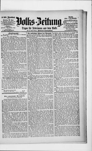 Volks-Zeitung vom 26.06.1894