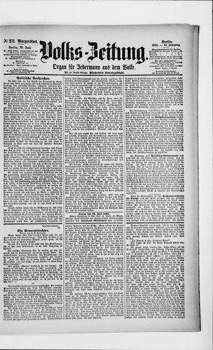 Volks-Zeitung vom 29.06.1894