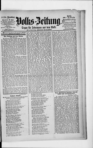Volks-Zeitung vom 30.06.1894