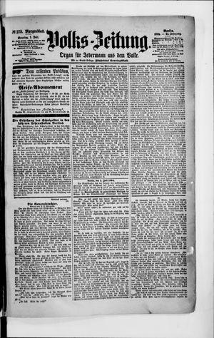 Volks-Zeitung vom 01.07.1894