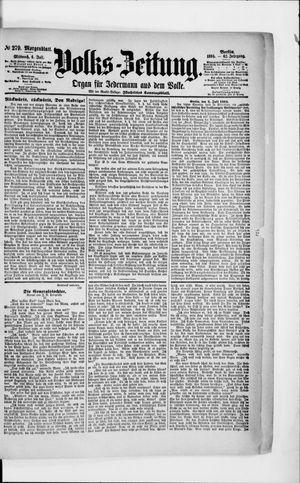 Volks-Zeitung vom 04.07.1894