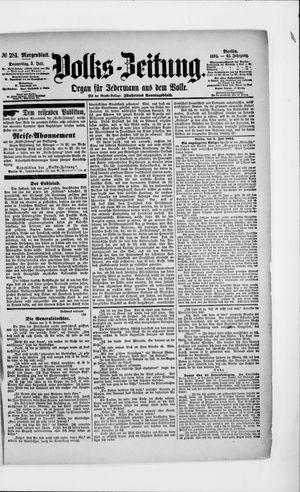 Volks-Zeitung vom 05.07.1894