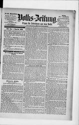 Volkszeitung (18.12.1894)
