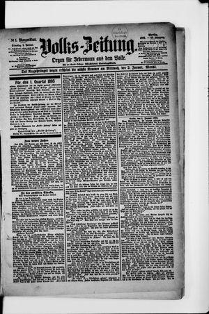 Volks-Zeitung vom 01.01.1895