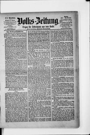 Volks-Zeitung vom 02.01.1895