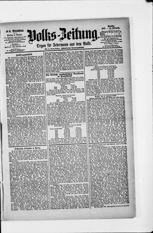 Volks-Zeitung vom 04.01.1895