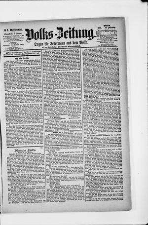 Volks-Zeitung vom 05.01.1895