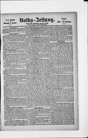 Volks-Zeitung on Jan 9, 1895